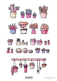 Little Plants by Sunshunes