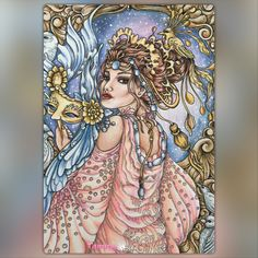 Night Queen  Maskara by Mardel Rubio
