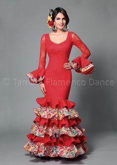 39bbb68f26 143 mejores imágenes de Vestidos flamenca