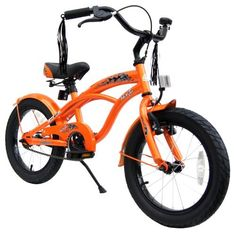 bike*star 40.6cm (16 Inch) Kids Children Bike Bicycle Cruiser - Colour Orange by Bikestar. $159.99. 16 inch Boys Cruiser Bike  Age recommendation: starting from approx. 3-5 years  The hottest style for 2012! This bicycle, reminiscent of the 30's and 40's style beach cruiser, is equipped with the latest safety features and accessories!  With seasonal trend colors, this  product fulfills the rigorous US/European requirements for quality and safety.  That combined with a 12 mon...