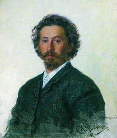 Ilya Repin. Realism. Selfportrait