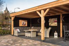 Overkapping Echteld Pool Gazebo, Diy Gazebo, Wooden Gazebo, Backyard Pavilion, Backyard Patio Designs, Outdoor Garden Bar, Outdoor Pergola, Outdoor Rooms, Corner Summer House