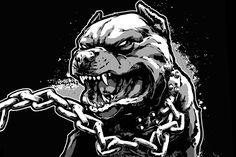 Pitbull Tattoo, Pitbull Drawing, Pitbull Wallpaper, All Animals Photos, Lion Sketch, Bulldog Mascot, Japanese Tattoo Art, Skull Artwork, Dark Art Drawings