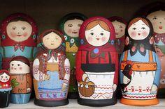 Matryoshka Nesting Dolls (June 2012)