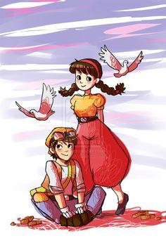 Sheeta & Pazu