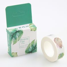 Leaves Washi Paper Decor Mask Washy Masking Tape DIY Papel Stickers Scrapbooking Japanese Stationery Office Supplies #>=#>=#>=#>=#> Click on the pin to check out discount price, color, size, shipping, etc. Save and like it!