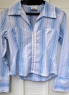 Kaufe meinen Artikel bei #Kleiderkreisel http://www.kleiderkreisel.de/damenmode/blusen/120505254-bluse-von-pimkie-gestreift-business