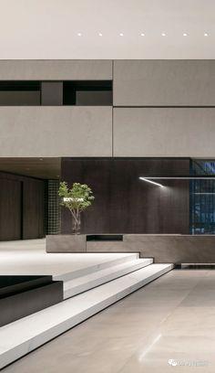 Lobby Interior, Restaurant Interior Design, Home Interior Design, Home Design, Contemporary Interior Design, Contemporary Architecture, Interior Architecture, Facade Design, Office Interiors