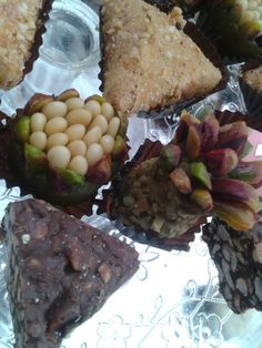 Ananas Pistache, Machmoum, Bjawia Chocolat, Samsa Amande Noisette