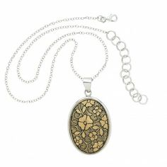 Etched Gourd Pendant - Necklaces - Jewelry - Products