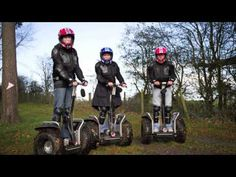Segway Safari at Heaton House - hen do - stag do ideas - corporate events - team building