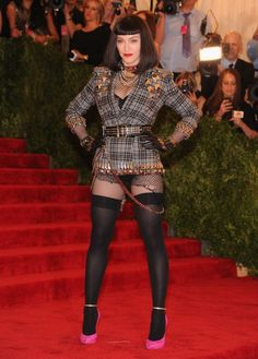 Madonna in Givenchy at the MET Gala 2013