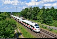 RailPictures.Net Photo: 411 562-2 Deutsche Bahn AG DB AG, ICET BR 411 at Drakenburg, Germany by ARTEMIS KLONOS
