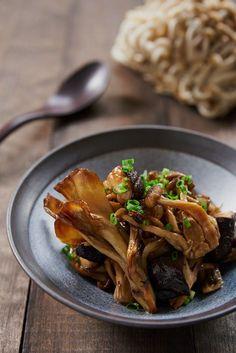 Yuzu Marianted Japanese Mushrooms #japaneseRecipe