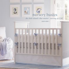 Nursery Bedding & Nursery Decor | Serena & Lily