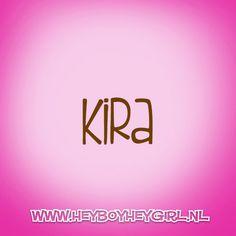 Kira (Voor meer inspiratie, en unieke geboortekaartjes kijk op www.heyboyheygirl.nl)