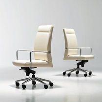 Office armchair / contemporary / with headrest