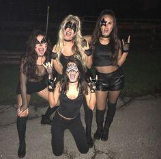 halloween costume DIY. KISS                                                                                                                                                                                 More