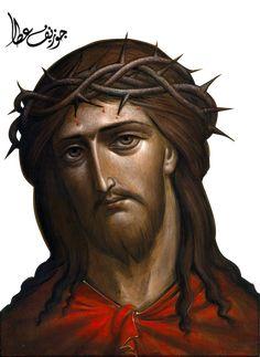 Jesus by on DeviantArt Religious Photos, Religious Icons, Religious Art, Jesus Face, God Jesus, Christian Images, Christian Art, Dream Catcher Art, Christian Symbols