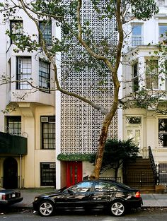 Edward Durrell Stone House, 130 East 64th Street,  New York by Edward Durell Stone in 1956