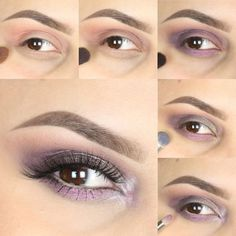 Blooming with beauty, this violet smokey eye is here to inspire your next look. Complementary to any eye color, this creation is all kinds of stunning! Follow the step-by-step photo tutorial to see ho