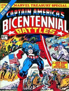 Marvel Treasury Special: Captain America's Bicentennial Battles