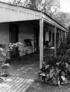 Historic Houses of California - Los Angeles County - Inglewood - Centinela Adobe (1834)