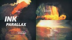 Ink Parallax Slideshow - Project for After Effects (Videohive)