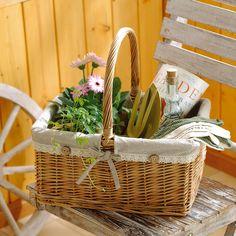 willow basket ウイローレクトバスケット