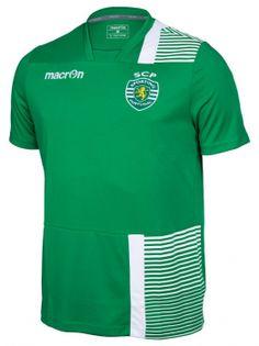 e15eefcdf0 T-Shirt de Treino VRD BR 16 17 Sporting Clube De Portugal