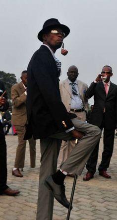Congolese Sapeur; La Société des Ambianceurs et Persons Élégants