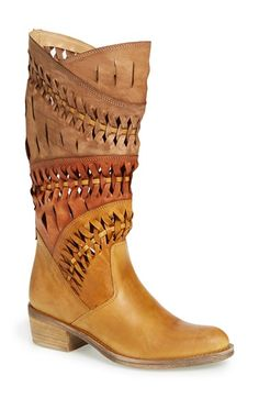 Summit by White Mountain 'Tulia' Leather Western Boot (Women) available at #Nordstrom