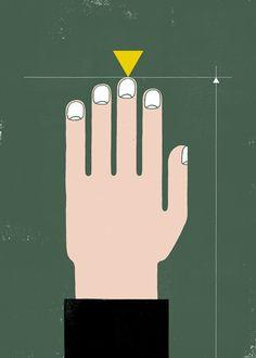 IlPost - Dactylion - La punta del dito medio (Un preciso punto anatomico che si trova sulla punta del dito medio)  [An anatomical landmark located at the tip of the middle finger]