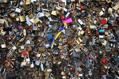 Pecs, Hungary Lock wall - put your name and the name of the one you love on a lock and lock it to the wall so your love will never end Pecs Hungary, Passport, Places Ive Been, Locks, Crowd, Bff, Husband, Europe, Spaces