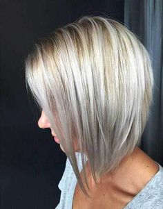Graduated Bob Hairstyles Are The Latest Trend: #8. Blonde with Lowlights Short Hair
