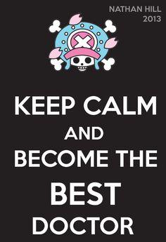 One Piece Keep Calm Tony Tony Chopper 2Y