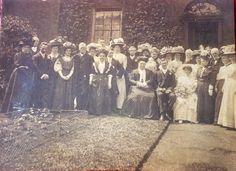 Edwardian wedding photo
