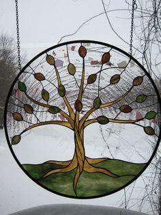 Stained Glass Tree of Life/Spring by RenaissanceGlass on Etsy, $475.00