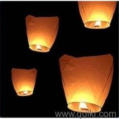 Flying Wish Lanterns and make your wish come true