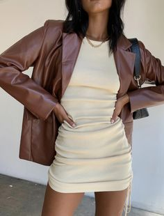 Mode Outfits, Fall Outfits, Fashion Outfits, Womens Fashion, Blazer Outfits, Fasion, Looks Street Style, Looks Style, Brown Fashion