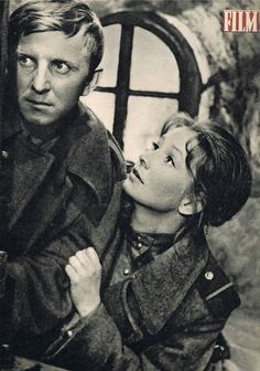Elżbieta Czyżewska and Jerzy Turek on the cover Film, 1963.