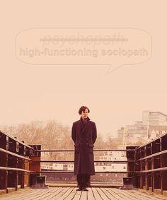 High functioning sociopath!