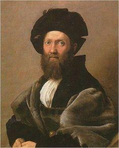 라파엘로, 발다사르 카스틸리오네 초상, 1516, 루브르
