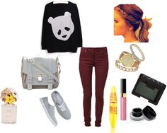 """""""A casual day"""" by reemtaha on Polyvore"""