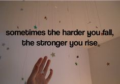 you rise stronger