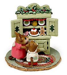 Christmas: Wee Forest Folk - Christmas Cupboard - Green