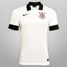 Camisa Nike Corinthians I 2013 s nº - Shoptimão 6af78678b6aa0