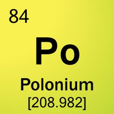 Polonium is a chemical element with symbol po and atomic number 84 radium and polonium symbols element 84 polonium urtaz Image collections