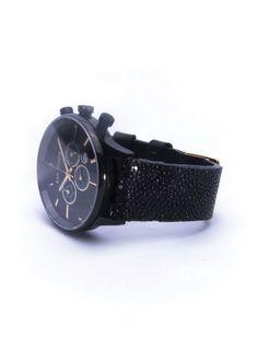SAN TORPE Aeolvs Watch - Genuine Stingray Leather Strap