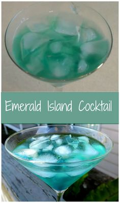 Emerald Island Cocktail, easy and irresistible.  http://www.ifood.tv/recipe/emerald-island-cocktail